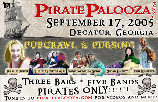 Original PiratePalooza Poster
