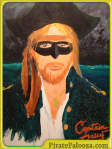 Buy this rare painting of Captain Drew