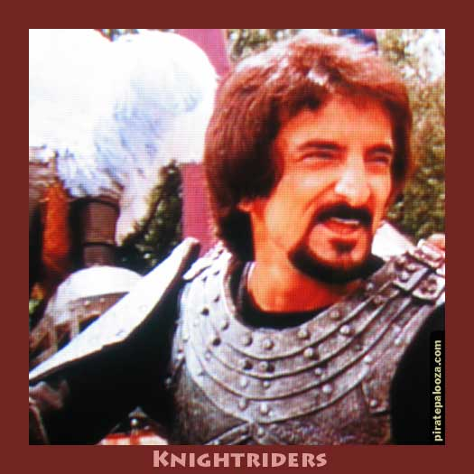 Tom Savini Makes a Great Motorcycle Jousting Knight