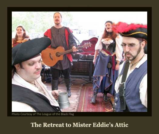 The Pirates Retreat to Mister Eddie's Attic