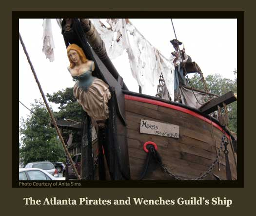 The Atlanta Pirates and Wenches Guild Docked at Port Joyce