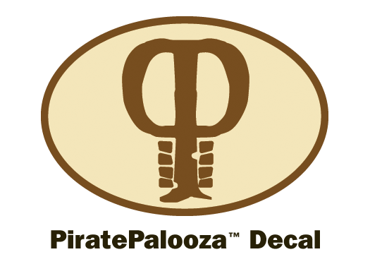 2008 PiratePalooza Decals