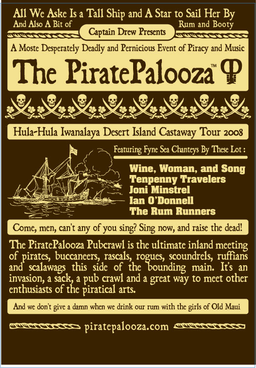 2008 Palooza Shirt Artwork