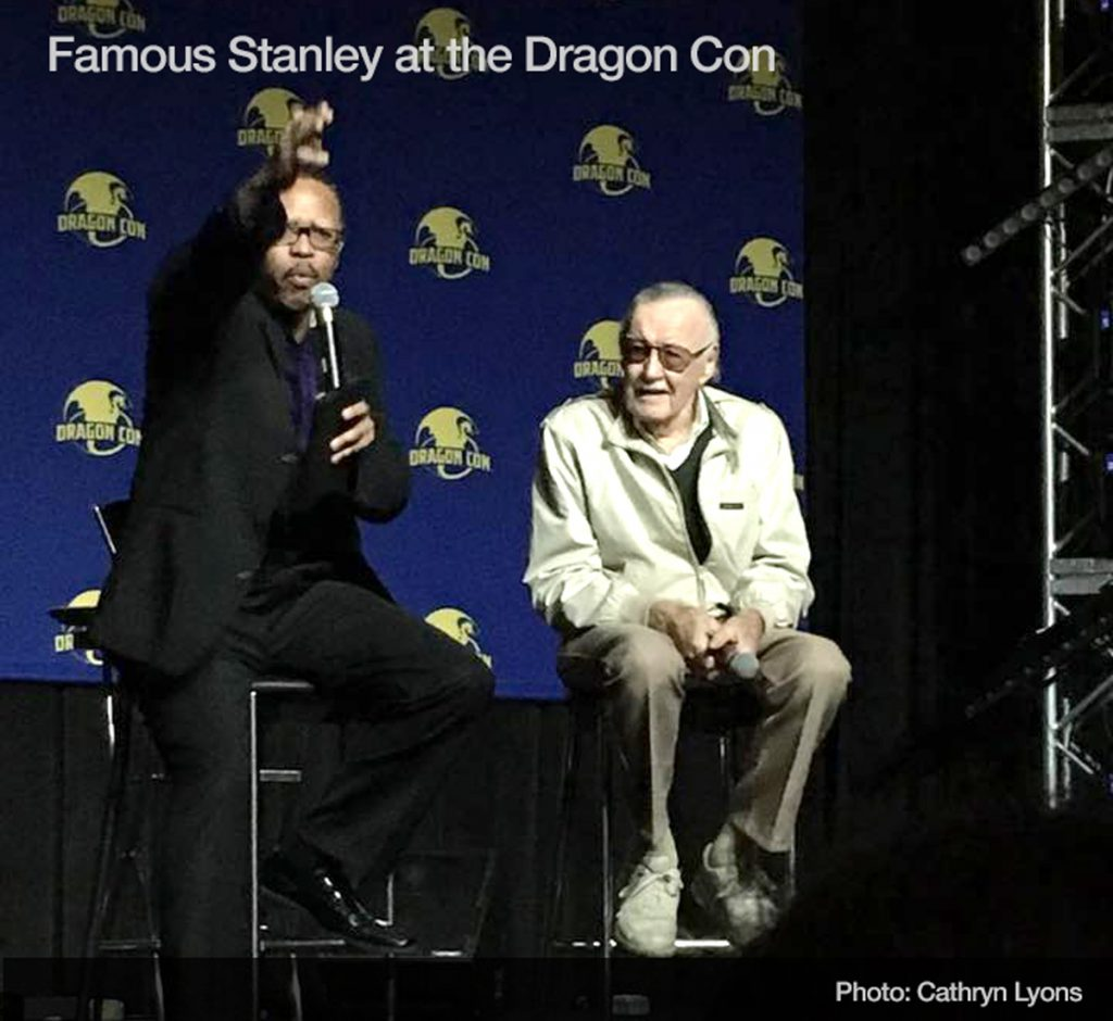 Stanley (Stan Lee) at Dragon Con 2017 courtesy Cathyrn Lyons