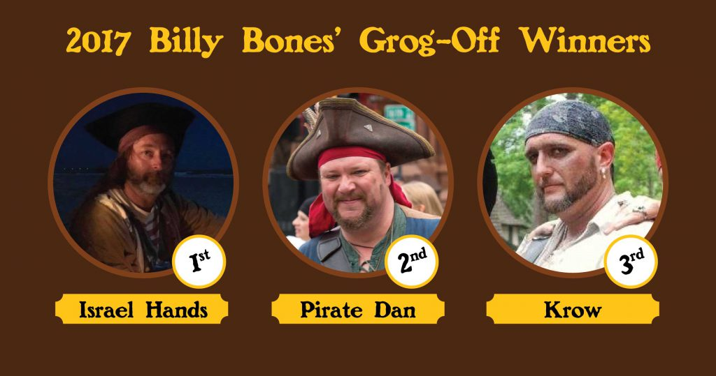 Winners of the 2017 Grog-Off