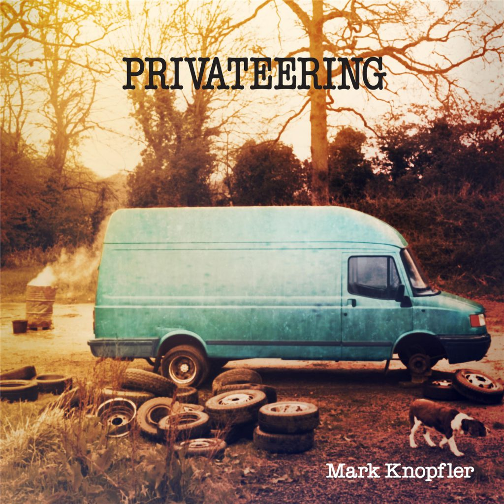Album Cover for Mark Knopfler's 2012 album Privateering