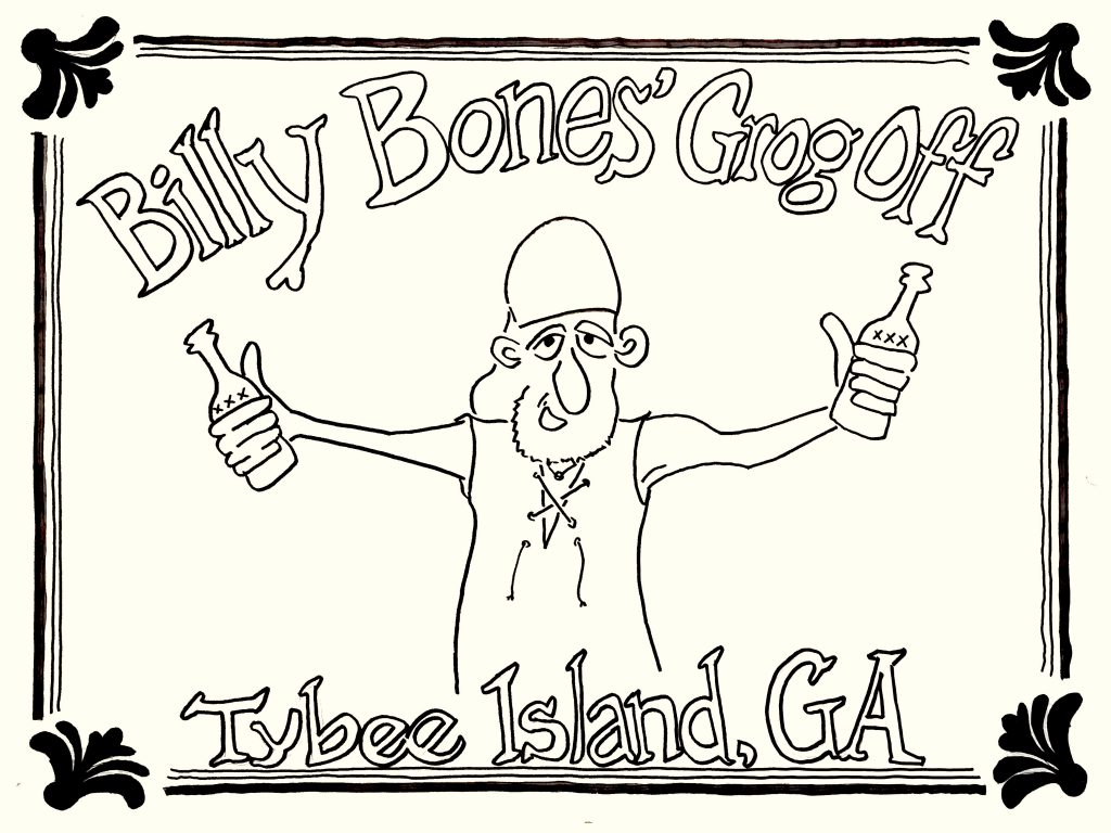 2018 Billy Bones Grog-Off Tybee Island Georgia