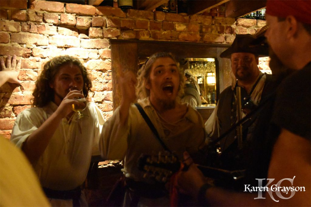 The Barehead Bards at the Brick Store