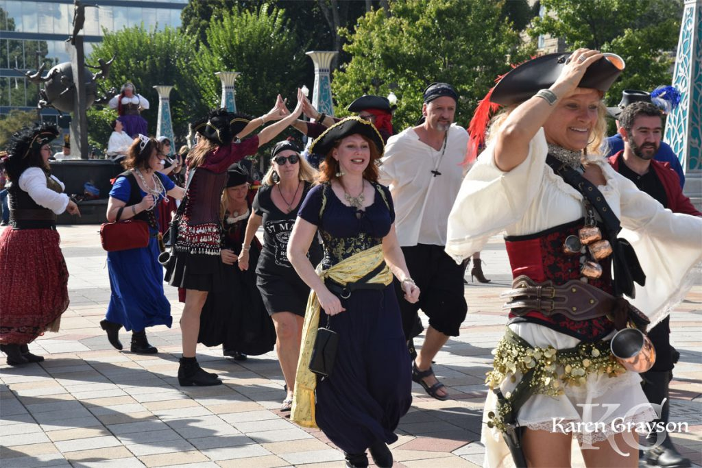 Billy Bones lovely dancing wenches