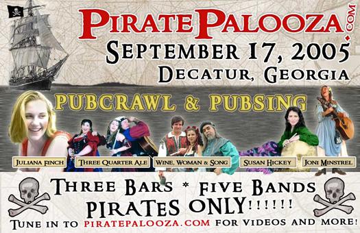 Original PiratePalooza Poster
