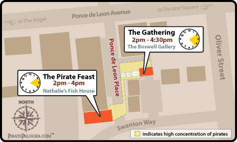 The Gathering and The Pirates Feast