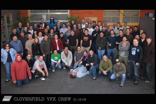 Cloverfield VFX Crew