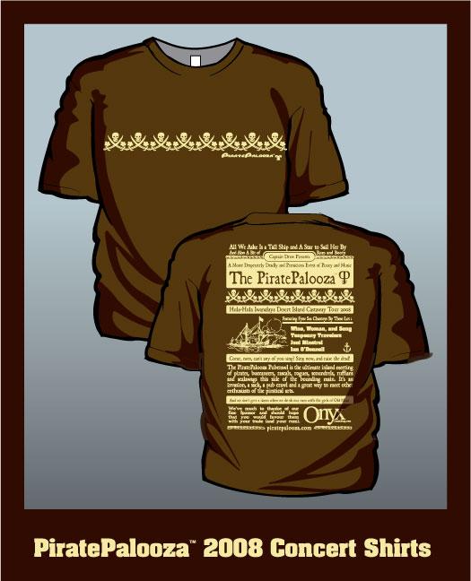 2008 Palooza Shirt Front/Back
