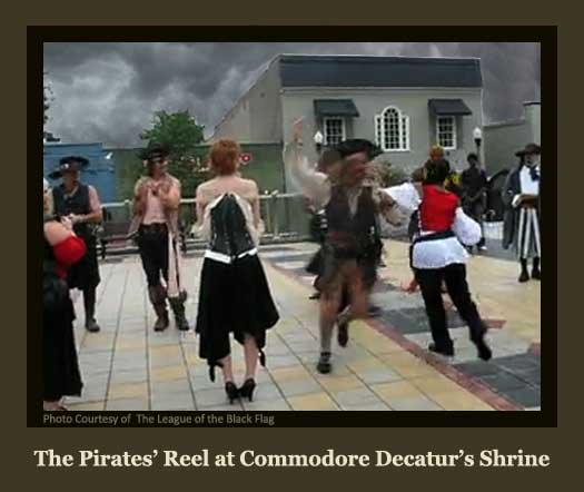 The Pirate Reel in the Square