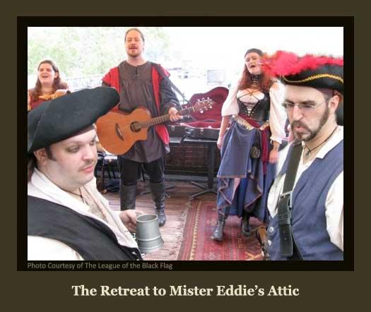The Pirates Retreat to Mister Eddie's Attic