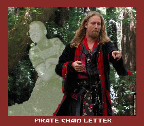Pirate Chain Letter