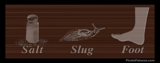 Salt, Slug, Foot : A Traditional Pirate Game