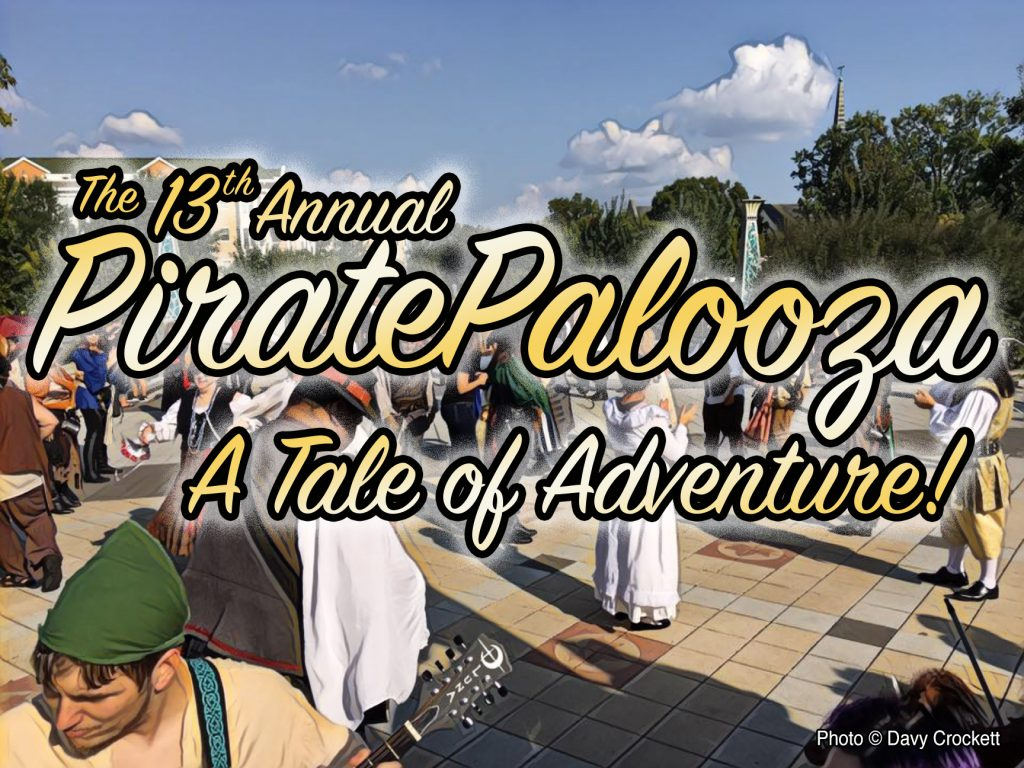 13th Annual PiratePalooza A Tale of Adventure!