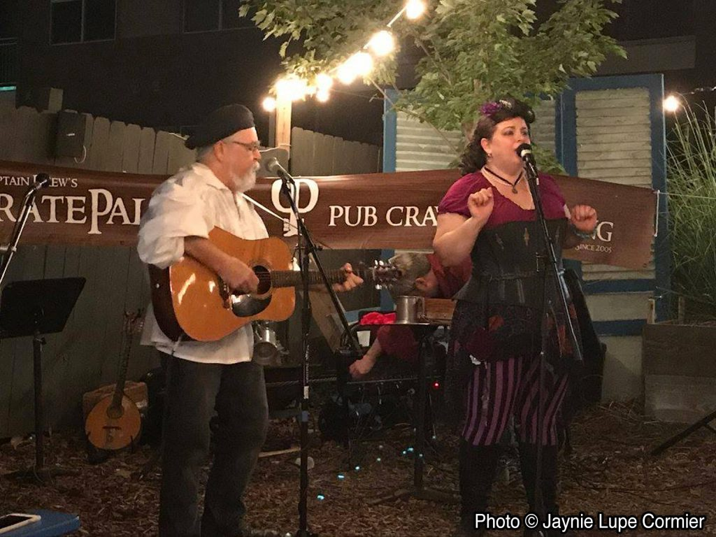 Wine Woman & Song at PiratePalooza #13 - September 2017
