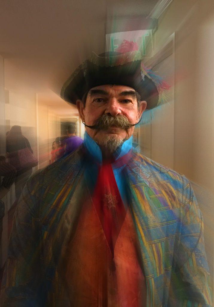 Famous Atlanta Steampunk aficionado Bill Harrison
