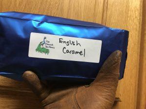 English Caramel Tea from Peacock Tea Room