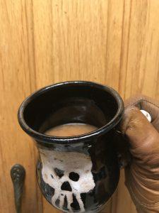 English Caramel Tea ready for drinking