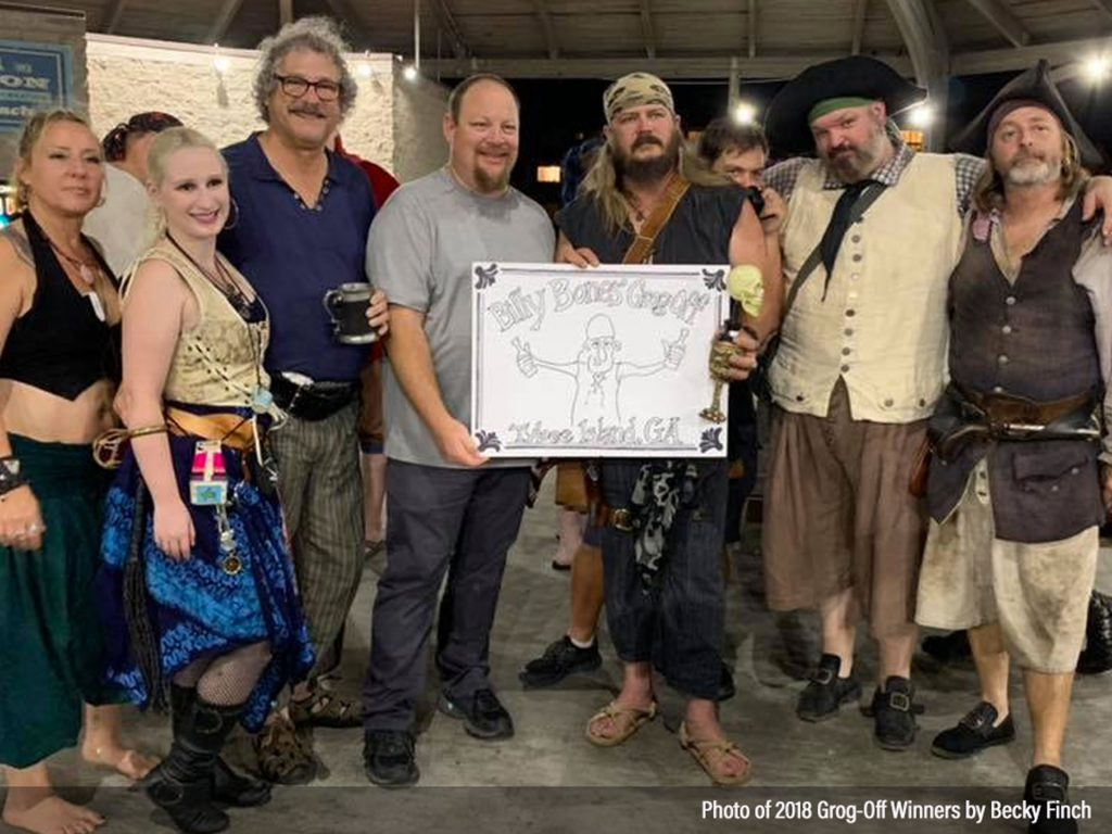 Winners and Entrants to the 2018 Billy Bones Grog-Off