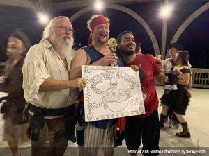 Winners of Billy Bones first ever 2018 Grog Off