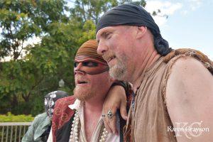 Captain Drew and Billy Bones