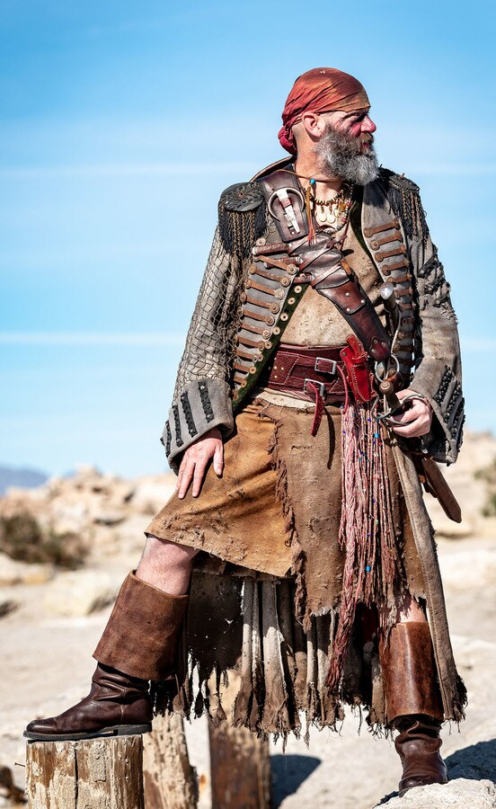 Post-apocalyptic Pirate Coat by Scott Johnson