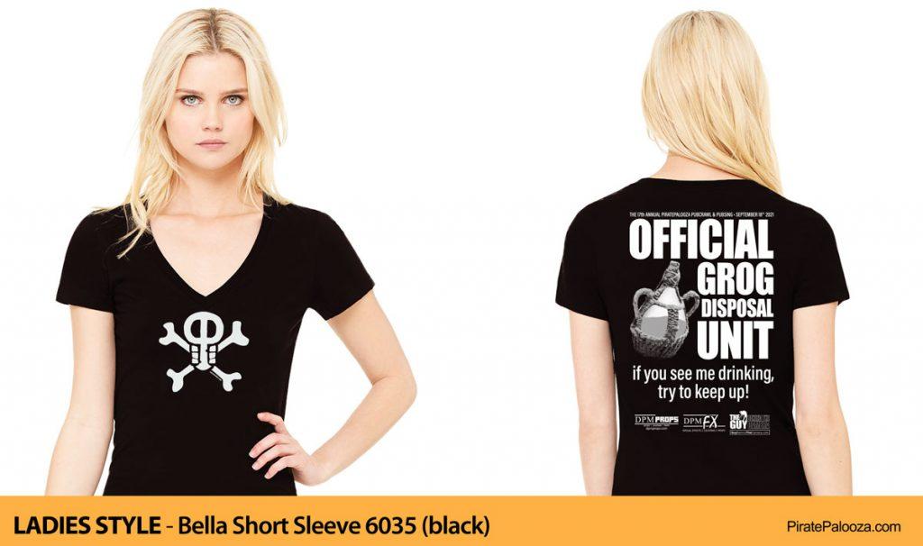 2021 Grog Quest shirt ladies style